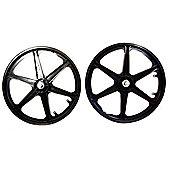 """20"""" Plastic BMX Wheel Steel Hub Rear"""