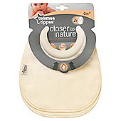 Tommee Tippee   Closer To Naturemlk Feed Bibs X2