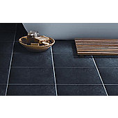 Buxton Charcoal Porcelain Floor Tile 333x333mm Box of 9 (1.00 M² / Box)