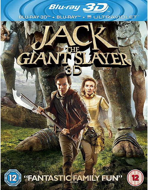 Jack The Giant Slayer Bluray 3D