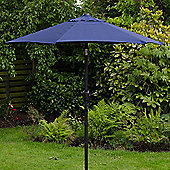 Cambridge 2m Crank And Tilt Garden Parasol Blue