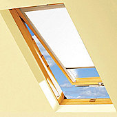 White Blackout Roller Blinds For VELUX Windows (MK04)