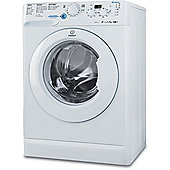 Indesit Innex Washing Machine, XWD 71452 W UK, 7KG load, with 1400 rpm - White