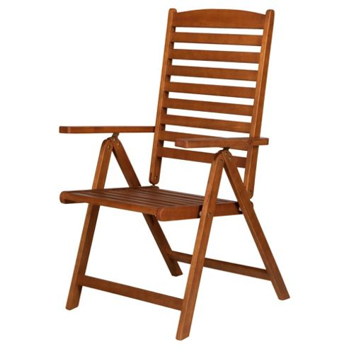 Buy Windsor Wooden Folding Recliner Chair From Our Garden Chairs Range Tesco
