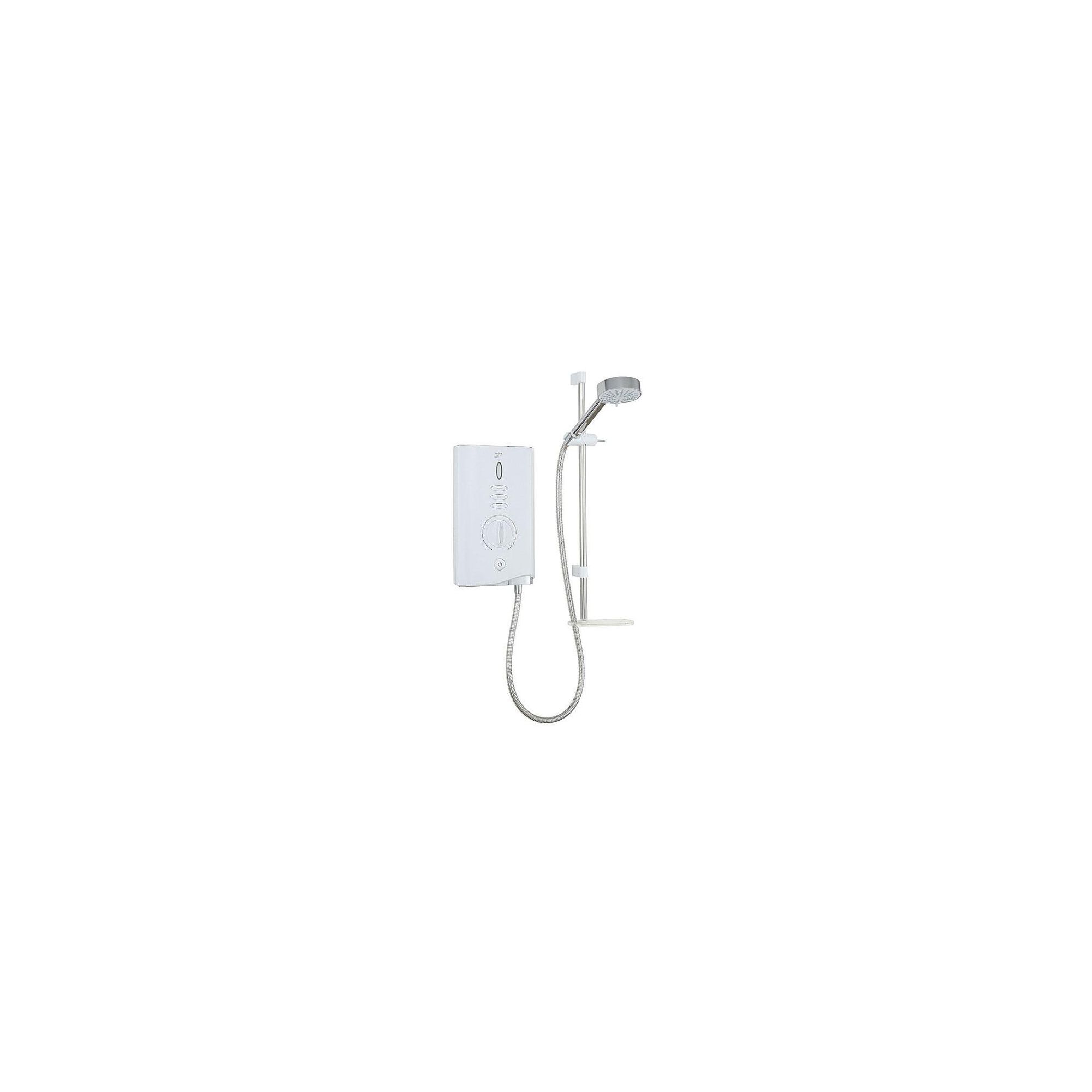 Mira Sport Max Airboost 10.8 kW Electric Shower with 4 Spray Handshower, White/Chrome at Tesco Direct