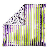 BabyDan Felix Reversible Play Mat Tarok and Lilac