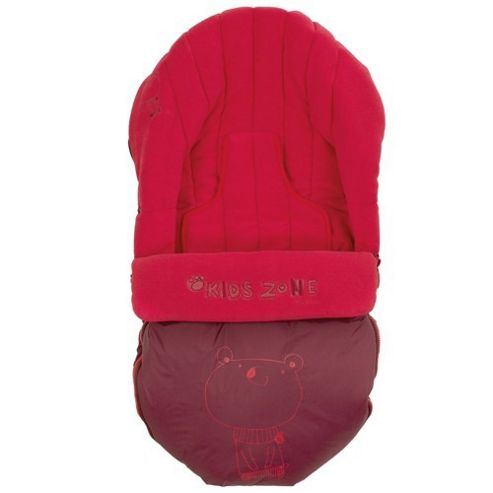 Jane Moom Car Seat Footmuff (Red)