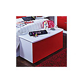 Welcome Furniture Knightsbridge Blanket Box - White - Ruby