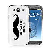 Personalised Moustache Samsung S3 Case