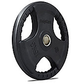 Bodymax Olympic Rubber Radial Weight Disc Plate - 15kg