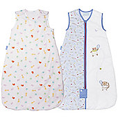 Grobag 2.5 Twin Pack - Little Champs & Jungle Friends (18-36 Months)