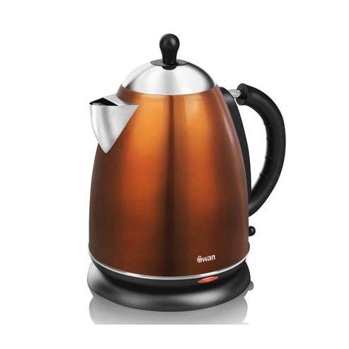 buy swan sk24011copn 1 7l metallic copper kettle from our. Black Bedroom Furniture Sets. Home Design Ideas