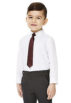 F&F Shirt and Tie Set - White