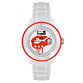 Ice-Watch F Me Im Famous 52mm Unisex Red Lips Watch FM.SS.WEL.BB.S