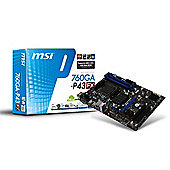 MSI AMD AM3 760G 4DDR3 GBE LAN 4USB3 ATX MOTHERBOARD