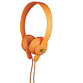 Scosche lobeDOPE On Ear Headphones (Orange)