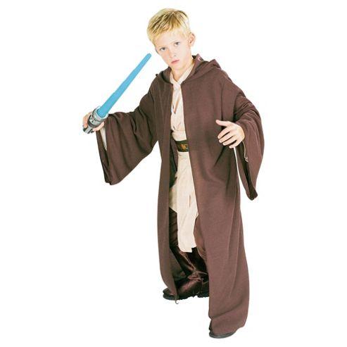 Rubies UK Deluxe Hooded Heavy Jedi Robe- L