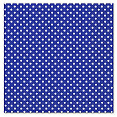 Navy Blue Polka Dot Napkins 3ply