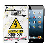 Personalised Keep Out iPad Mini Case