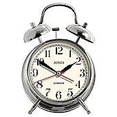 Jones & Co Twin Bell Alarm Clock