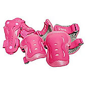 SFR Essential Knee, Wrist and Elbow Triple Pad Set - Pink Medium