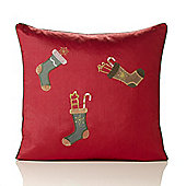 Christmas Stockings Tapestry Cushion - 46x46cm