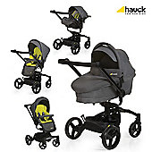 Hauck Twister Travel System, Lime
