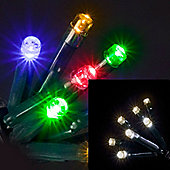 100 Colour Switching LED lights