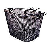 Adie Mesh Basket in Black, Includes Metal Bracket