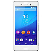 Tesco Mobile Sony Xperia M4 Aqua White