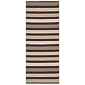 Swedy Baia Brown Rug - Runner 60 cm x 200 cm (2 ft x 6 ft 7 in)