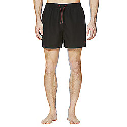 F&F Short Length Swim Shorts M Black