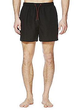 F&F Short Length Swim Shorts - Black