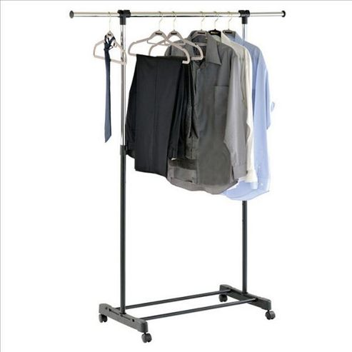 Stretch - Extendable Instant Wardrobe / Clothes Hanging Rail