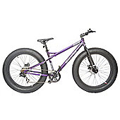 "2014 Coyote Fatman Fat Bike 26"" x 4"" with Disc Brakes Purple"