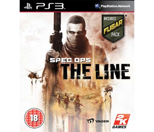 Spec Ops - The Line With Fubar Pack (PS3)
