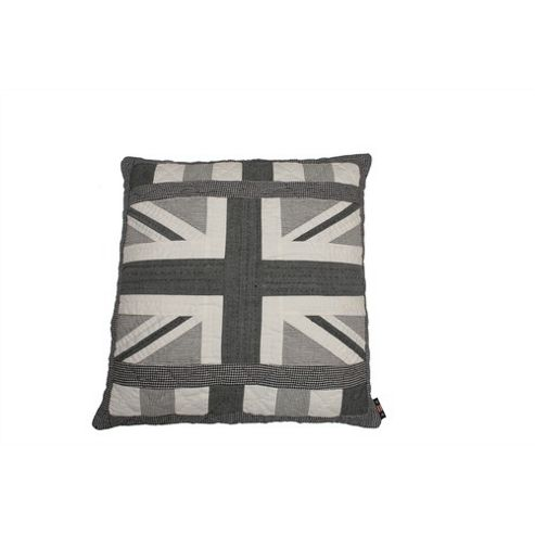 Woven Magic Union Jack Monochrome Cushion