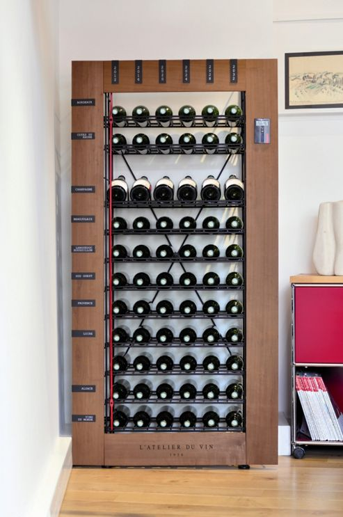 L'Atelier du Vin Storing Les Caves Smart Cellars Basic Unit (66 Bottles)