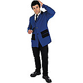Teddy Boy Blue - Adult Costume Size: 46-48