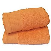 Luxury Egyptian Cotton Bath Sheet - Orange