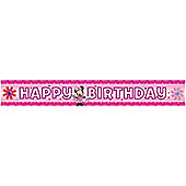 Minnie Mouse Party Foil Banner (each)