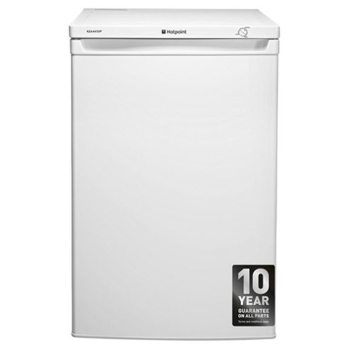 Hotpoint RZAAV22P Undercounter Freezer, 55cm, A+ Energy Rating, White