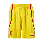 2014-15 Liverpool Away Shorts (Yellow) - Yellow
