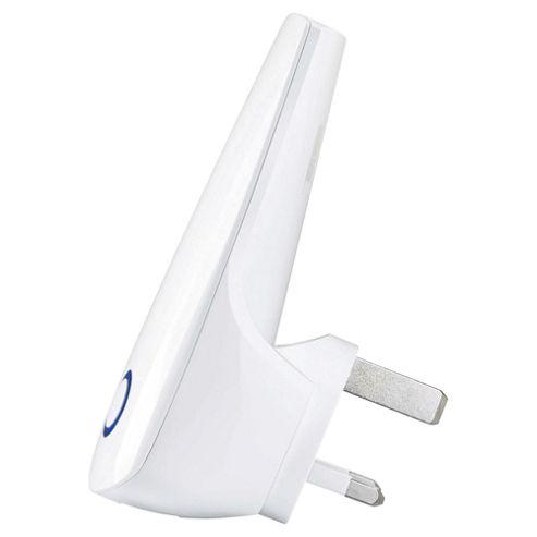 TP-Link 300Mbps Universal WiFi Range Extender TL-WA850RE - White