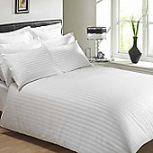Julian Charles Mayfair White 300 Thread Count 100% Egyptian Cotton Duvet Cover - Double