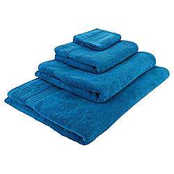 Teal Hygro 100% Cotton Hand Towel