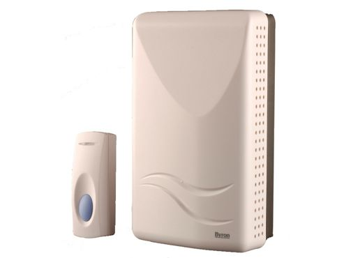 Byron Sx5I Cordless Wall Mounted Chime White 100M