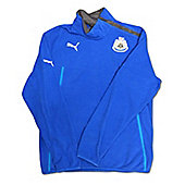 2013-14 Newcastle Puma Half Zip Fleece (Blue) - Blue