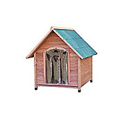 Up and About A-Frame Wooden Dog Kennel - Extra Large - Cedar