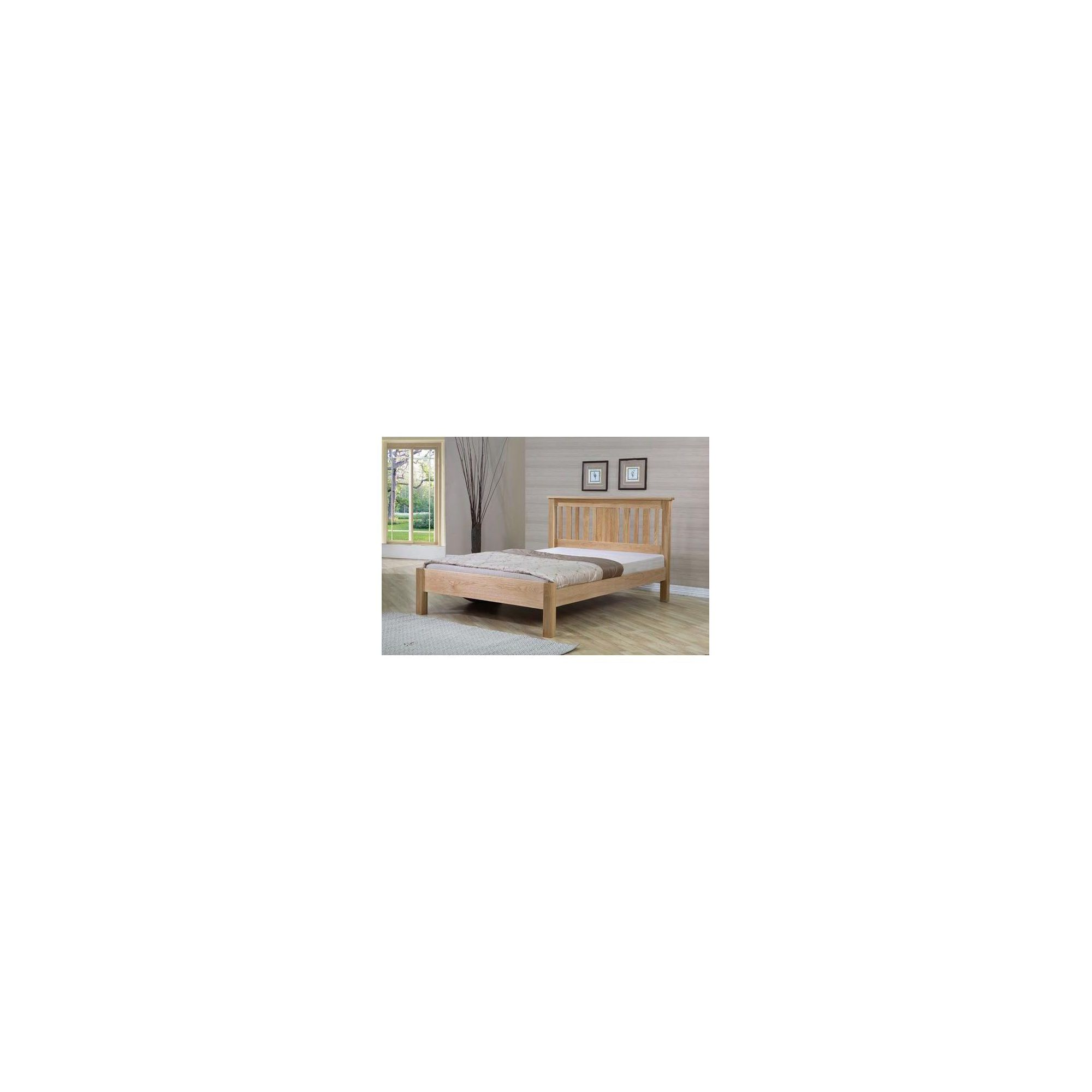 Sleepy Valley Oregon Bed - 2 Underbed Drawers/ Oak - Double at Tesco Direct